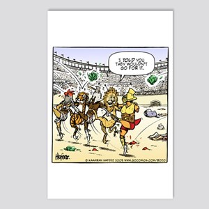 Gladiator's Cancan Postcards (Package of 8)