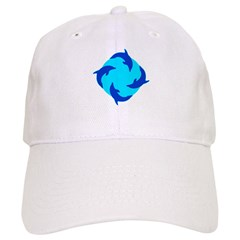 https://i3.cpcache.com/product/353507143/dolphin_ring_baseball_cap.jpg?side=Front&color=White&height=240&width=240
