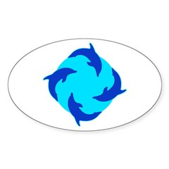 https://i3.cpcache.com/product/353507176/dolphin_ring_oval_decal.jpg?color=White&height=240&width=240