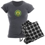 Master Gardener Seal Women's Charcoal Pajamas