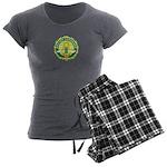 Master Gardener Seal Women's Charcoal Pajamas