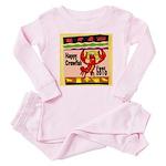 Crawfish Baby Pajamas