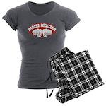 Badass Book Club Women's Charcoal Pajamas