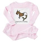 Capricorn in Training (Toddler Pink Pajamas)