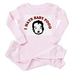 I Hate Children's Clothes Toddler Pink Pajamas