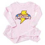 Captain Awesome Toddler Pink Pajamas