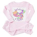 Wuxue China Toddler Pink Pajamas