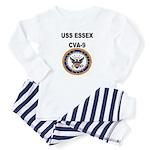USS ESSEX Baby Pajamas