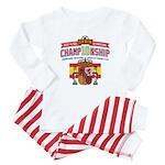 2010 Championship Baby Pajamas