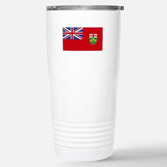 Ontario Stainless Steel Travel Mug