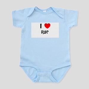 I LOVE RYE Infant Creeper