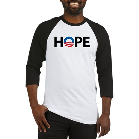Obama Symbol of Hope Baseball Jersey