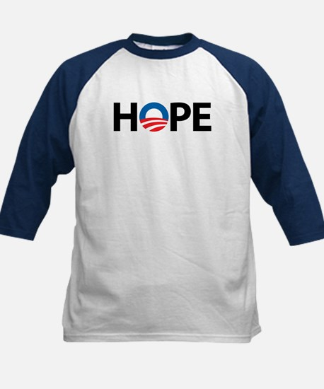 Obama Symbol of Hope Kids Baseball Jersey