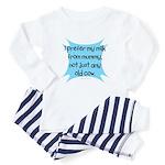 prefer mummys milk Baby Pajamas