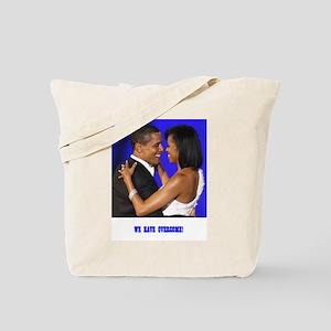 President Obama/Michelle Tote Bag