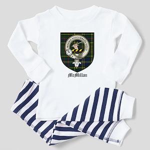 McMillan Clan Crest Tartan Baby Pajamas