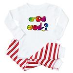 Rainbow GOT ASL? Baby Pajamas
