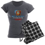Out of my way! Women's Charcoal Pajamas