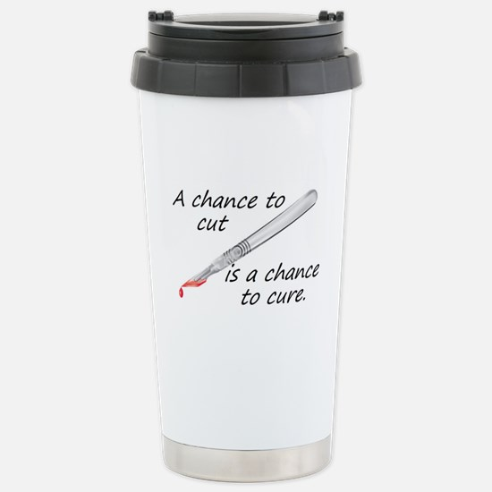 Cure Stainless Steel Travel Mug
