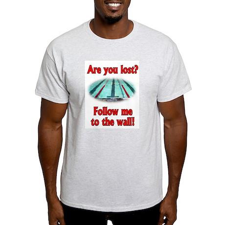 Follow me to the wall Ash Grey T-Shirt