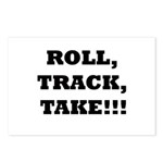 Roll,Track,Take! Postcards (Package of 8)