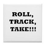 Roll,Track,Take! Tile Coaster