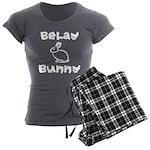 Belay Bunny Women's Charcoal Pajamas