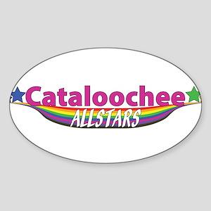 Cataloochee Allstars Oval Sticker