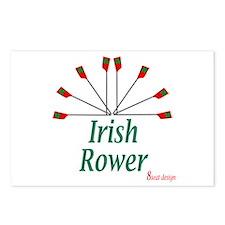 Irish Rower Postcards (Package of 8)
