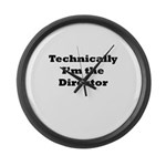Technical Director Large Wall Clock