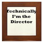 Technical Director Framed Tile
