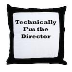 Technical Director Throw Pillow