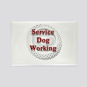 SERVICE DOG SHOP Magnets