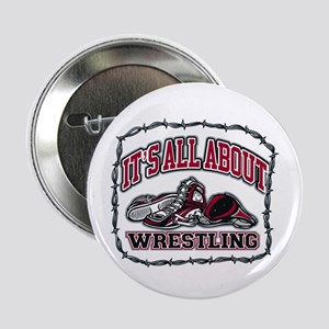 """It's All About Wrestling 2.25"""" Button (10 pack)"""