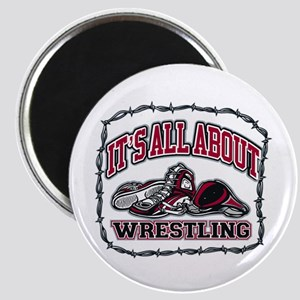 """It's All About Wrestling 2.25"""" Magnet (10 pack)"""