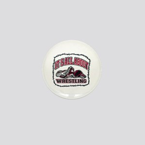 It's All About Wrestling Mini Button (10 pack)