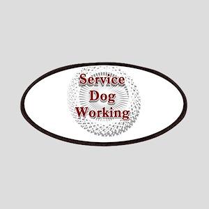 SERVICE DOG SHOP Patch