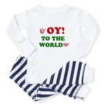 Oy To the World Infant Bodysuit