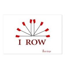 I ROW Postcards (Package of 8)