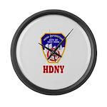 HDNY Large Wall Clock