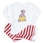 Dragon Hatchling Pastel Baby Pajamas / Baby Pajama