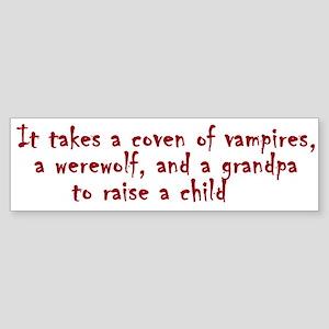 It takes a coven Bumper Sticker