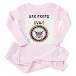 USS ESSEX Toddler Pink Pajamas