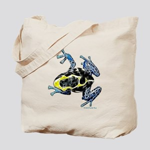 Frazzy Frog by cFractal Tees Tote Bag