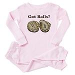 Got Balls? Baby Pajamas
