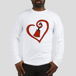 Heartfelt Bell Long Sleeve T-Shirt