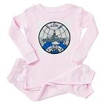 USS GLACIER Baby Pink Pajamas
