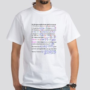 Equations White T-Shirt