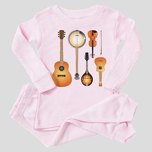 String Instruments Toddler Pink Pajamas
