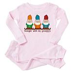 Hangin' With My Gnomies Toddler Pink Pajamas